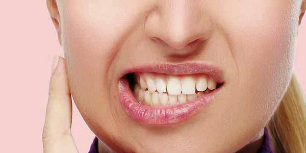 Bruxismo o simplemente apretar los dientes
